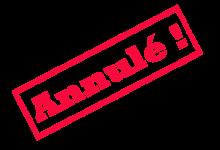 COURSE DU CHAMPIONNAT GENEVOIS DU 3 JUIN – ANNULÉE